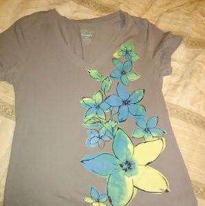Old Navy flower shirt